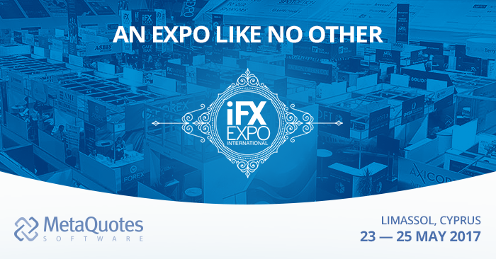 MetaQuotes Software to participate in the iFX EXPO International 2017 Expo