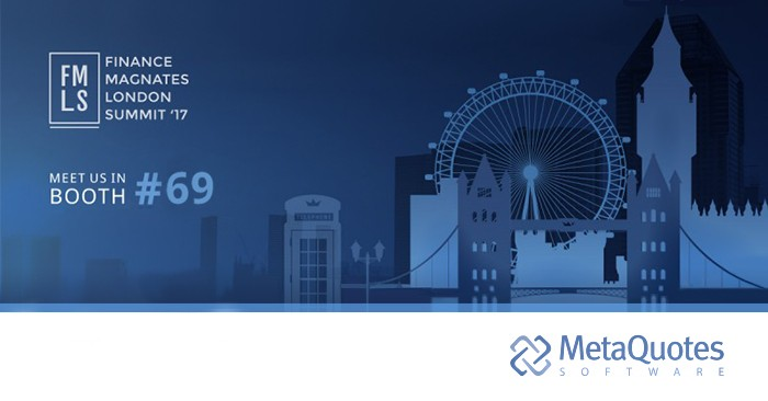 MetaQuotes Software will participate in London Summit 2017