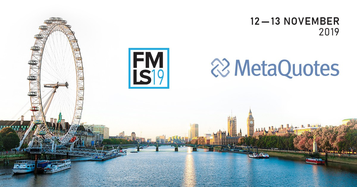 MetaQuotes will showcase new projects for MetaTrader 5 at London Summit 2019
