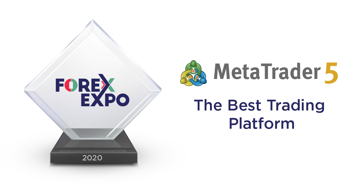 MetaTrader 5 has become the best trading platform at The Forex Expo Dubai 2020