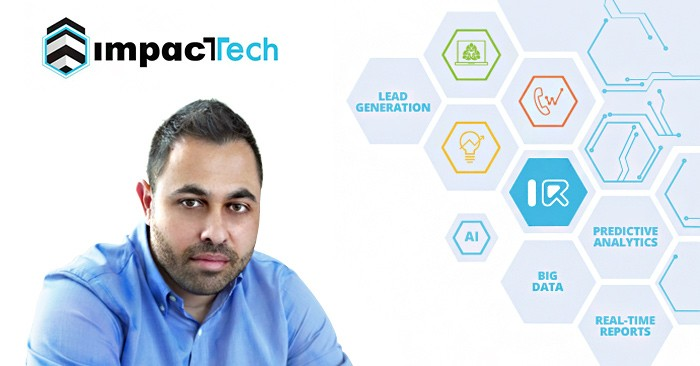George Larkou, CEO of ImpacTech