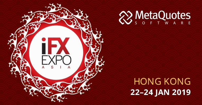 MetaQuotes Software is a Gold Sponsor of iFX Expo Asia 2019
