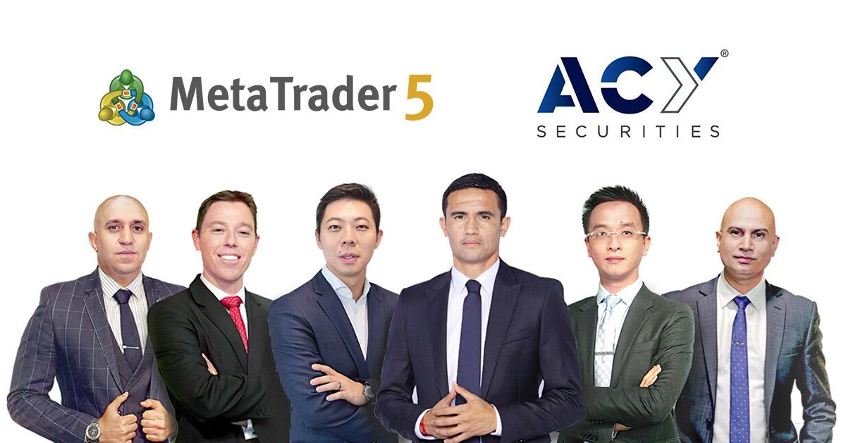 ACY Securities launches stock trading via MetaTrader 5
