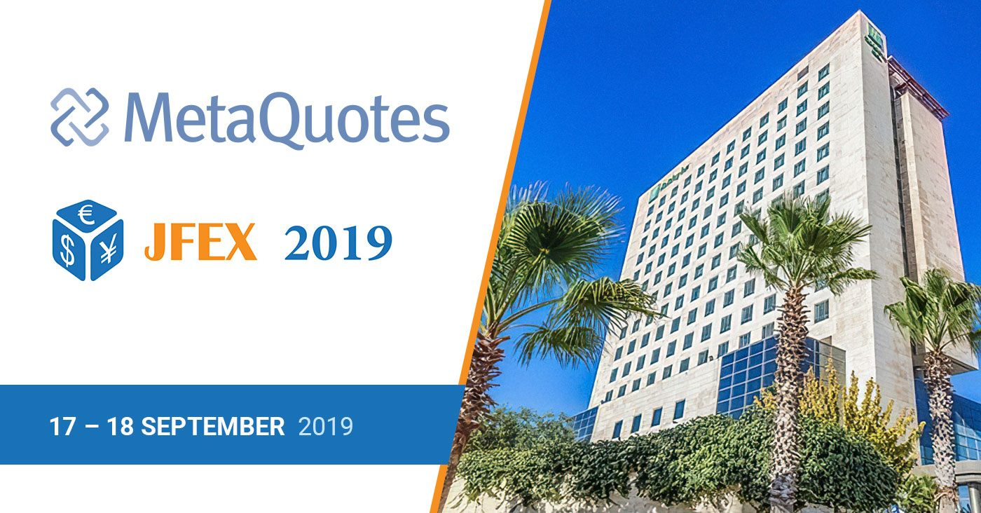 MetaQuotes at the JFEX Expo 2019