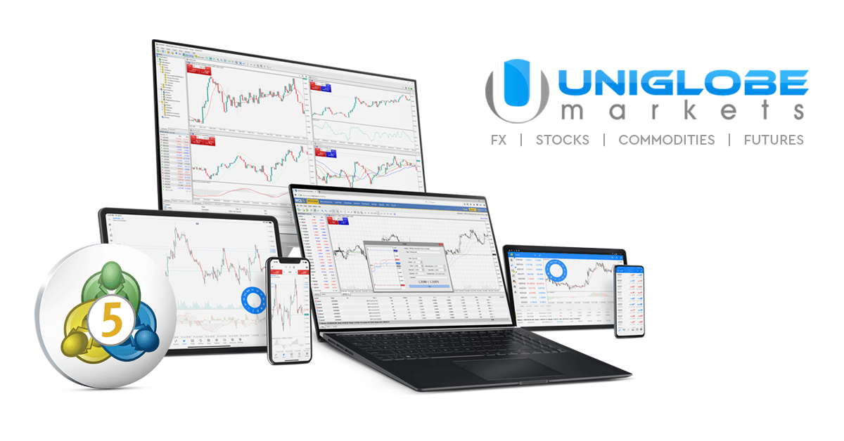 Uniglobe Markets launched MetaTrader 5 for Indices, Futures and Stock trading