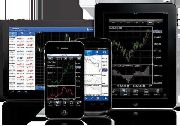 Mobile forex trading platform