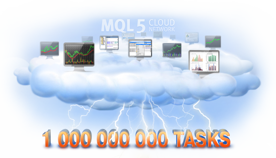 Миллиард выполненных задач в MQL5 Cloud Network