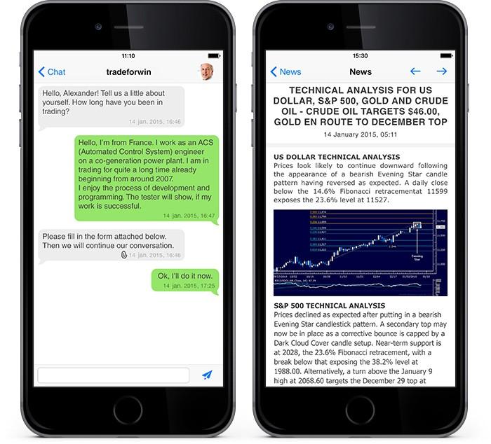 新版MetaTrader 4 iOS:加强新闻功能,更新聊天功能并支持64位架构