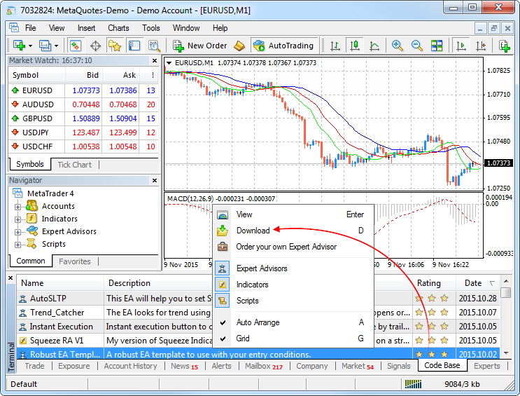What's new in MetaTrader 4