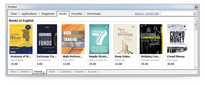 Read New Books About Trading Directly in MetaTrader 4 and MetaTrader 5