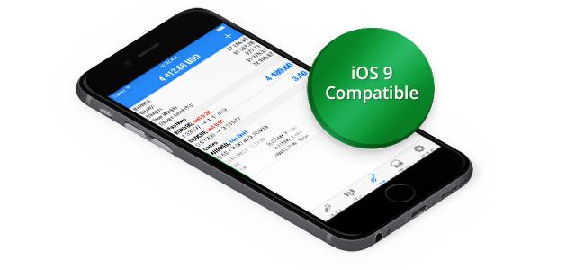 MetaTrader 5 iOS Build 1167