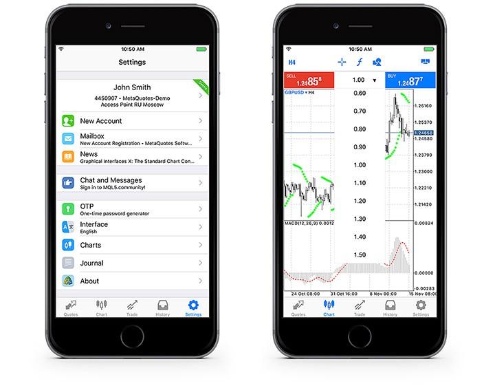 MetaTrader 5 iOS build 1425