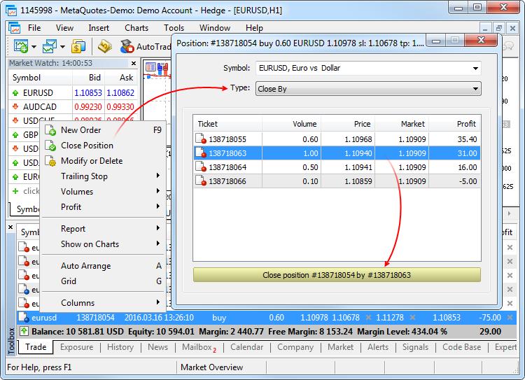 how to open real account metatrader 5